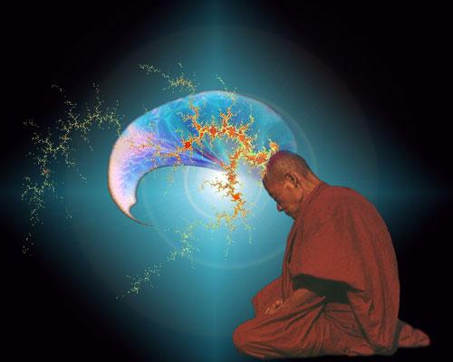 Méditation et relaxation dans Noble Silence-Vipassana image18_moine_en_meditation